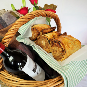 Partridge Wellington Dorset Hamper hand made by Plush Pantry