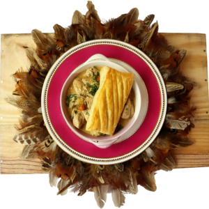 Wild Pheasant & Partridge Pie