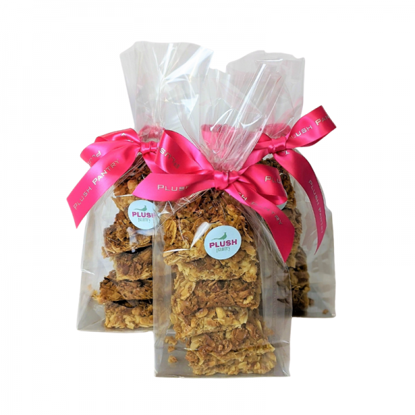 Plush Pantry pack of 6 Granola bars hand made by Plush Pantry