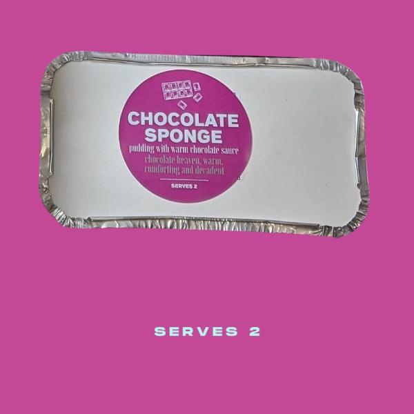 Plush Pantry Hot Chocolate Sponge
