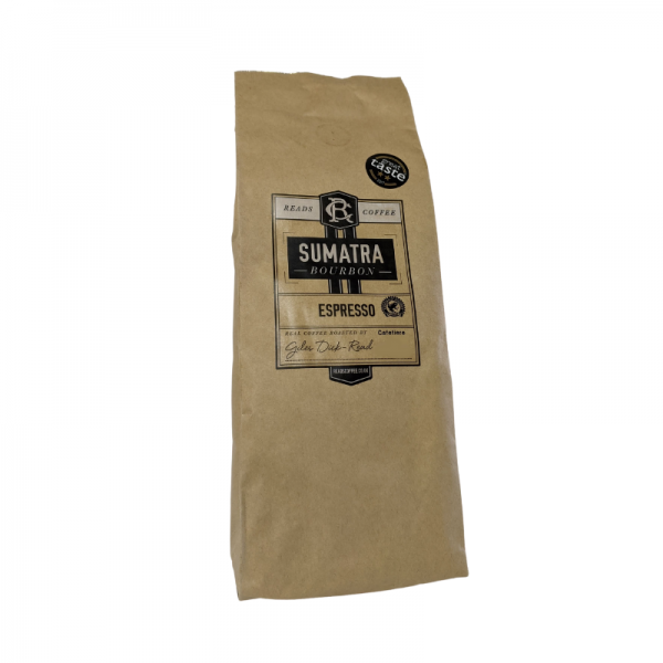 Plush Pantry Sumatra Espresso coffee for cafetiere