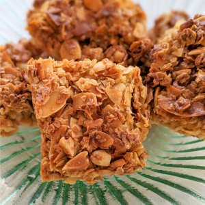 Sticky Granola Bar Treat hand made by Plush Pantry