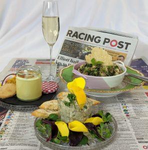 Cheltenham Festival Horse Racing celebrate at home menu