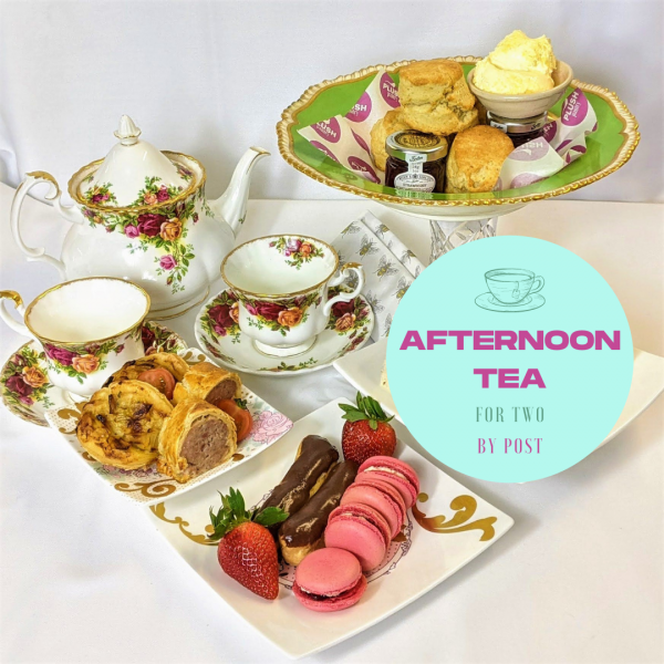 Afternoon tea delivered by post